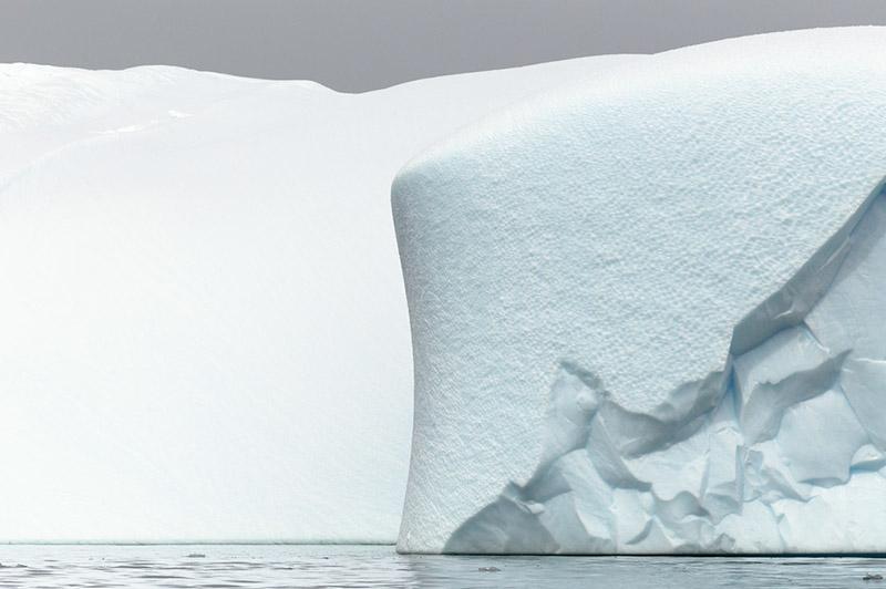 Iceberg Detail. Dallmann Fjords, Antarctica