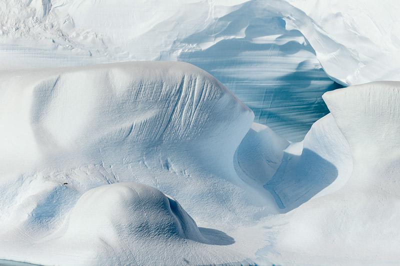 Iceberg Cave. Dallmann Fjords, Antarctica