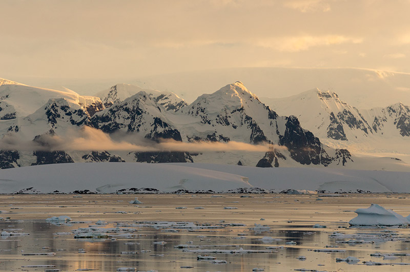 Anvers Island Mountains. Antarctica