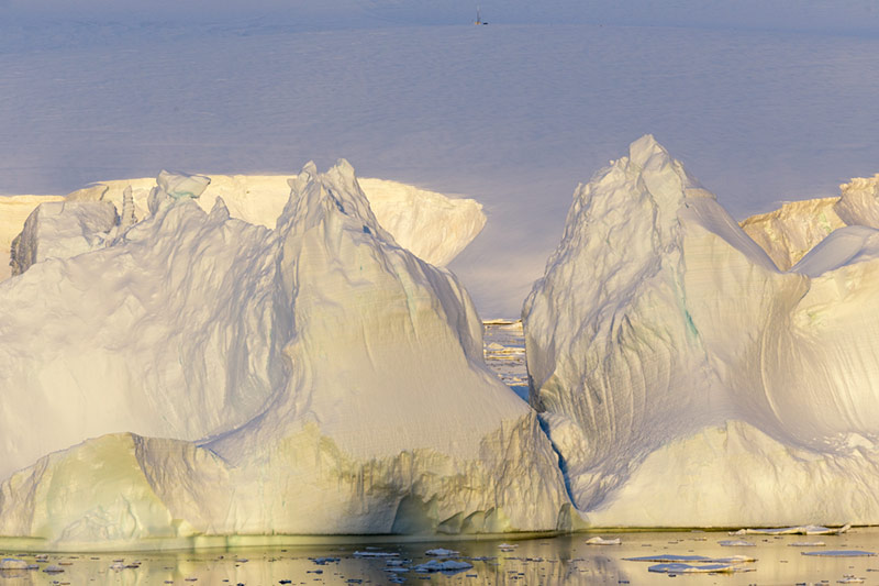 Ice Formations. Anvers Island, Antarctica