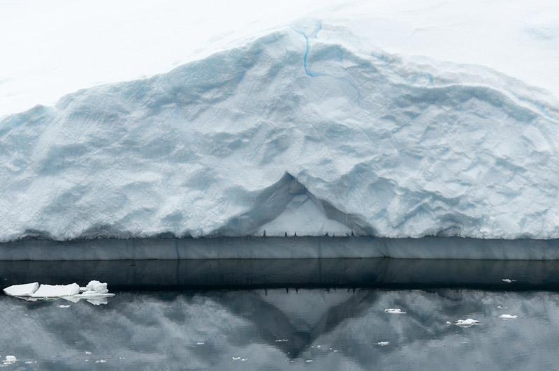 Iceberg Reflections. Dallmann Fjords, Antarctica