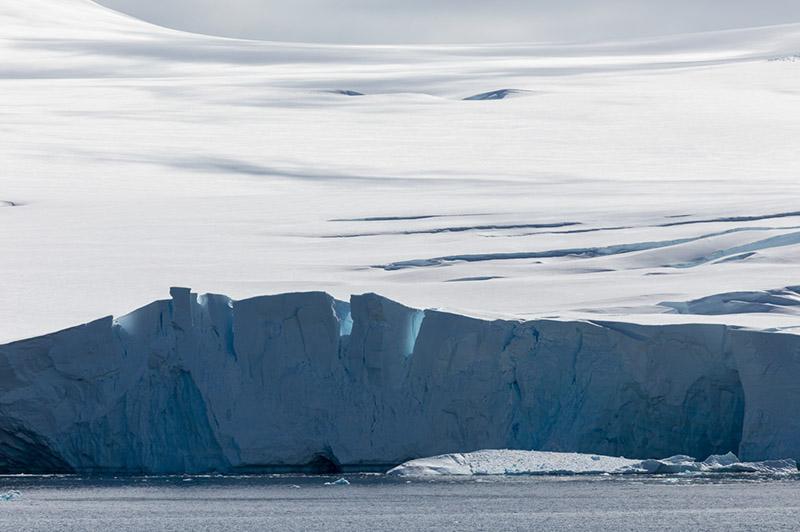 Glacier Face. Palmer Archipelago, Antarctica