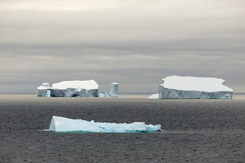 Sea Ice. North of Antarctica