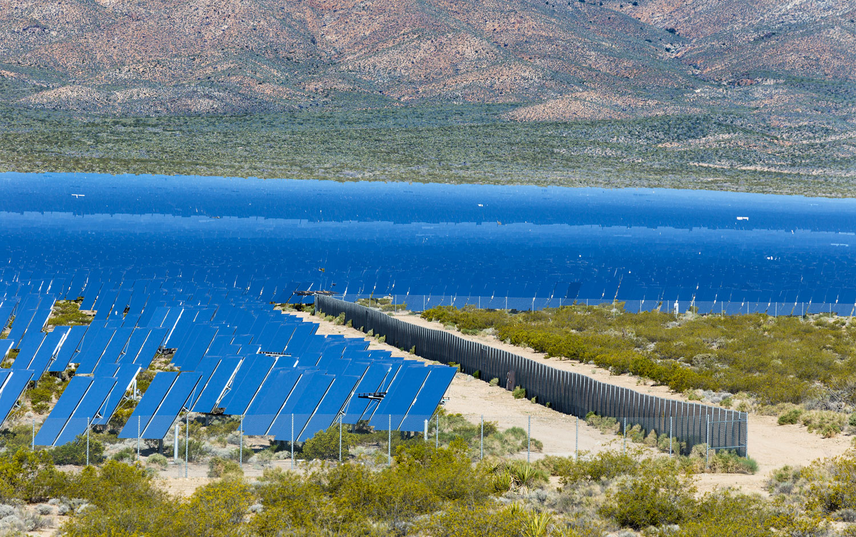 Ivanpah Thermal Solar Plant, CA. Study #3 (35,33.9845N 115,27.422W)