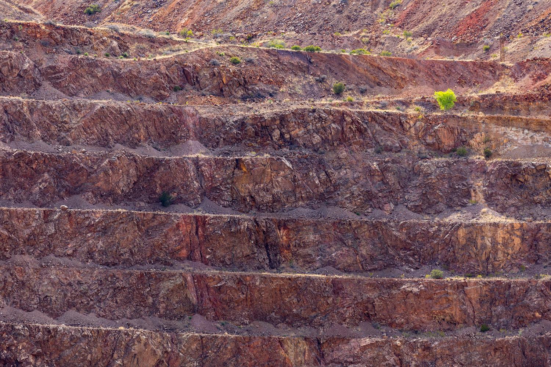 Lavender Pit Mine, Bisbee AZ. Study #1 (31,26.1403N 109,54.0653W)