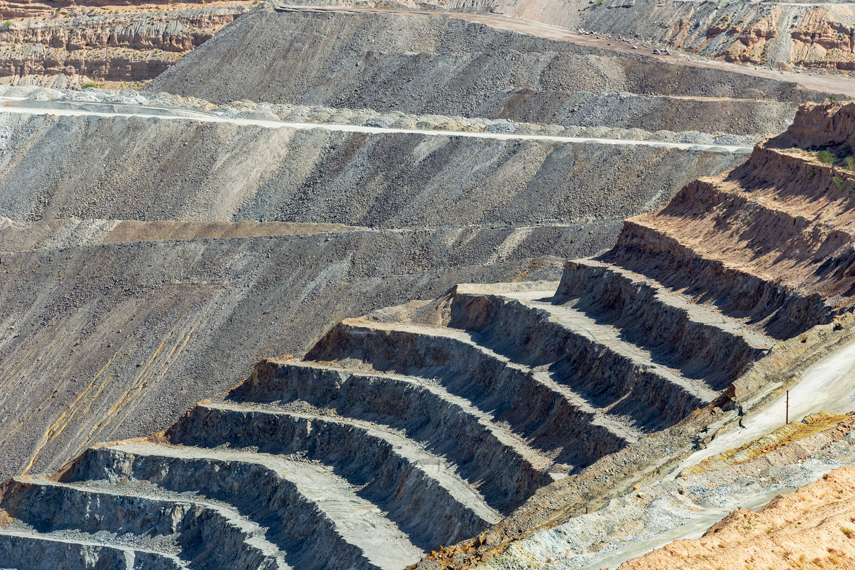 Asarco Pit Mine. Green Valley, AZ. Study #1 (31,58.4538N 111,4.1044W)