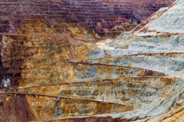 Lavender Pit Mine, Bisbee AZ. Study #8 (31,25.8500N 109,53.7061W)