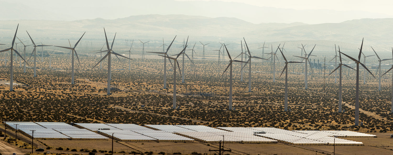 San Gorgonio Pass Wind Farm. Palm Springs, CA. Study #4 (33,55.5174N 116,36.3141W)