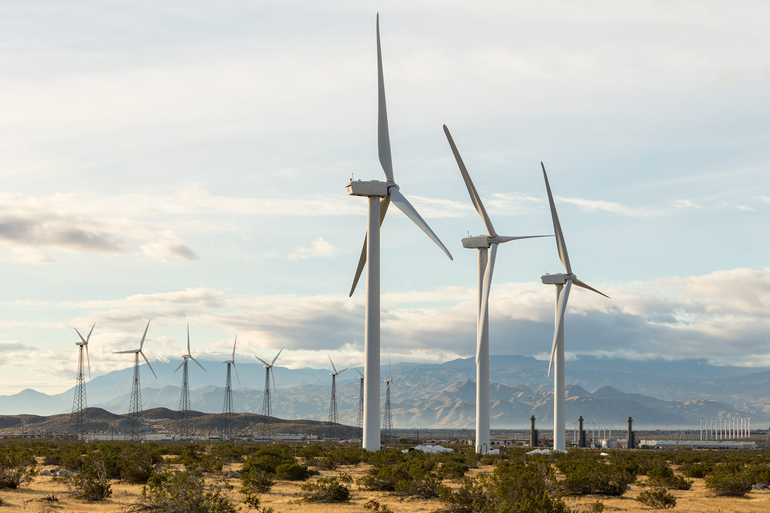 San Gorgonio Pass Wind Farm. Palm Springs, CA. Study #5
