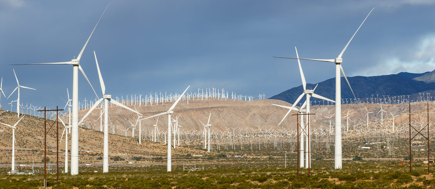 San Gorgonio Pass Wind Farm. Palm Springs, CA. Study #9