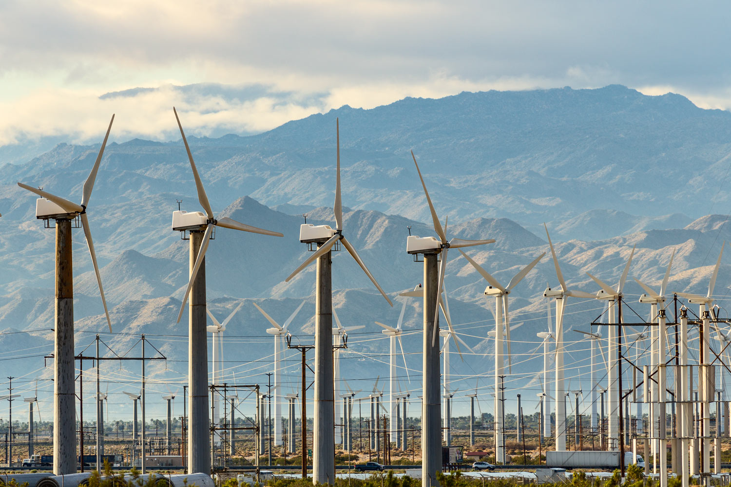 San Gorgonio Pass Wind Farm. Palm Springs, CA. Study #6