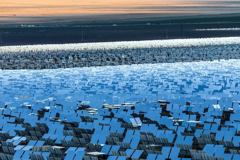 Ivanpah Thermal Solar Plant, CA. Study #23 (35,34.4762N 115,29.6512W)