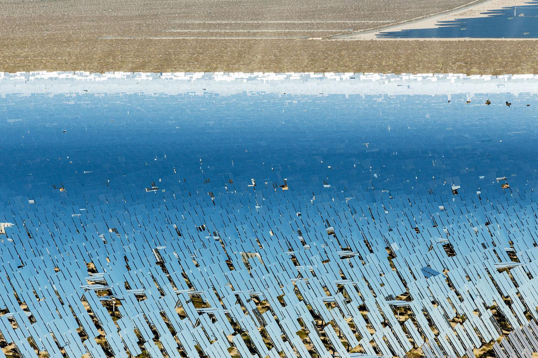 Ivanpah Thermal Solar Plant, CA. Study #28 (35,34.4774N 115,29.6562W)
