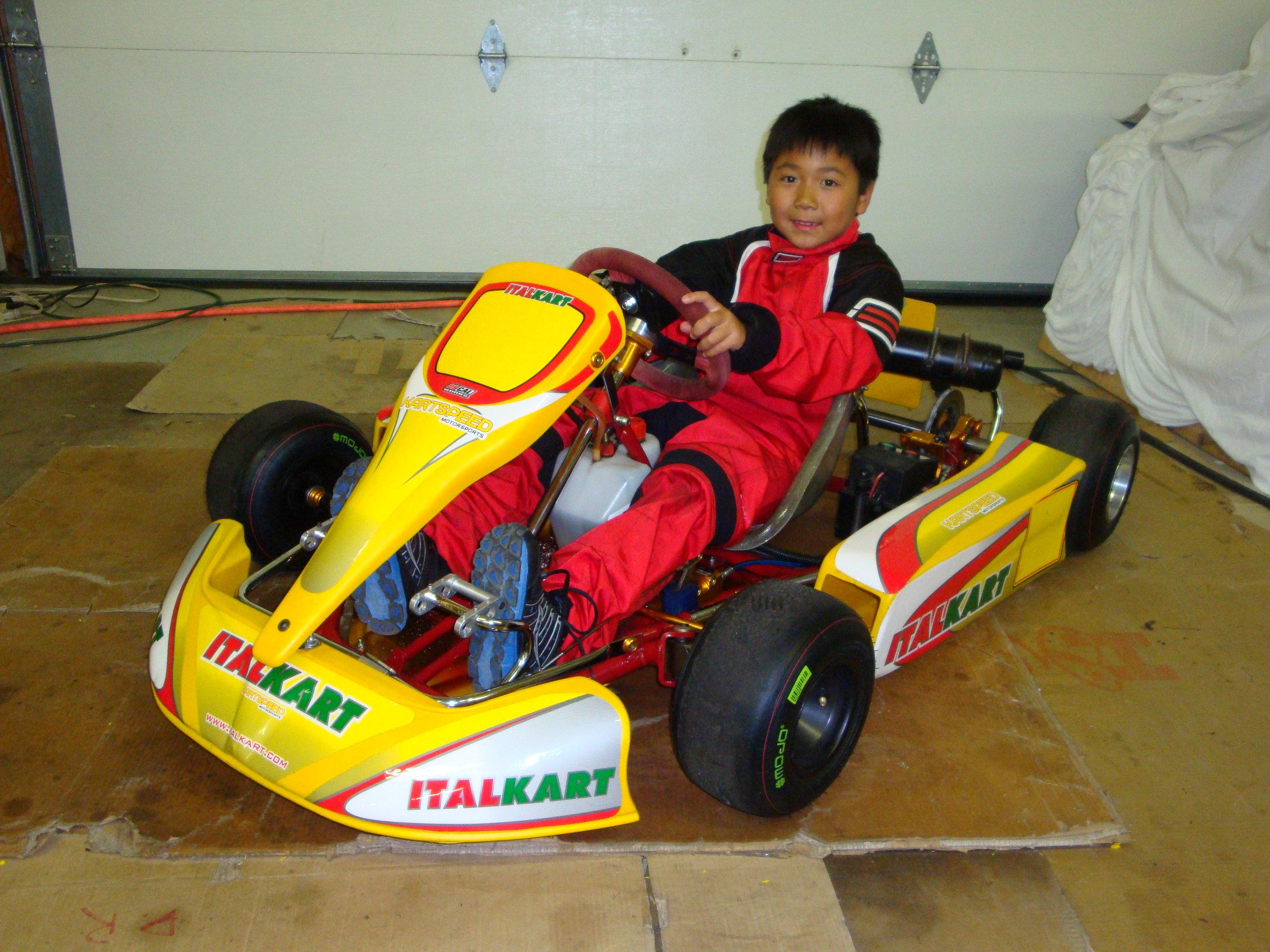 My very first kart!