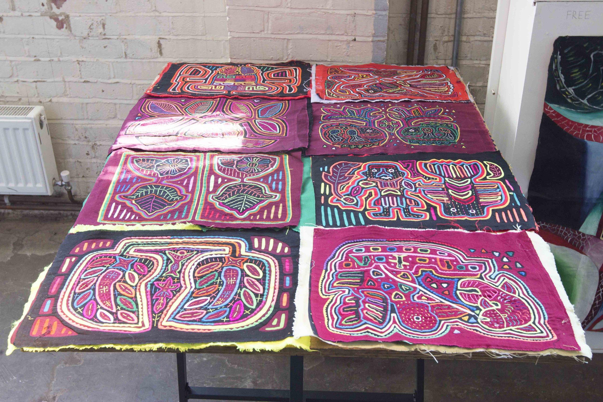 Gladis Arosemena. 2018. Textiles.  Tropic 08ºN
