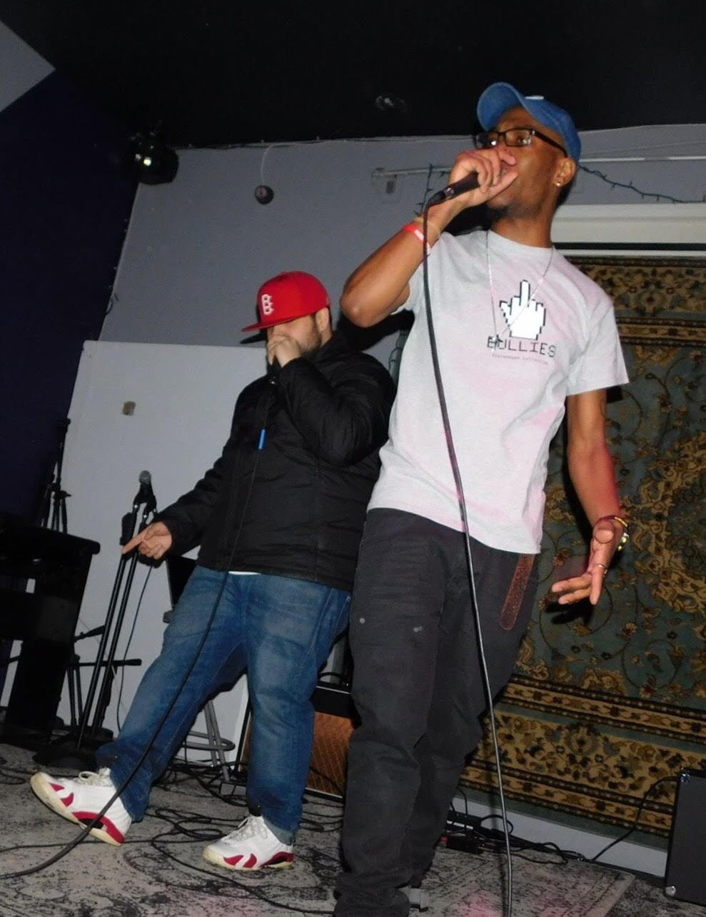 "VentriceIV w/ Shawn Deberry performing at ""Salzy Bar"" in Brooklyn, N.Y."