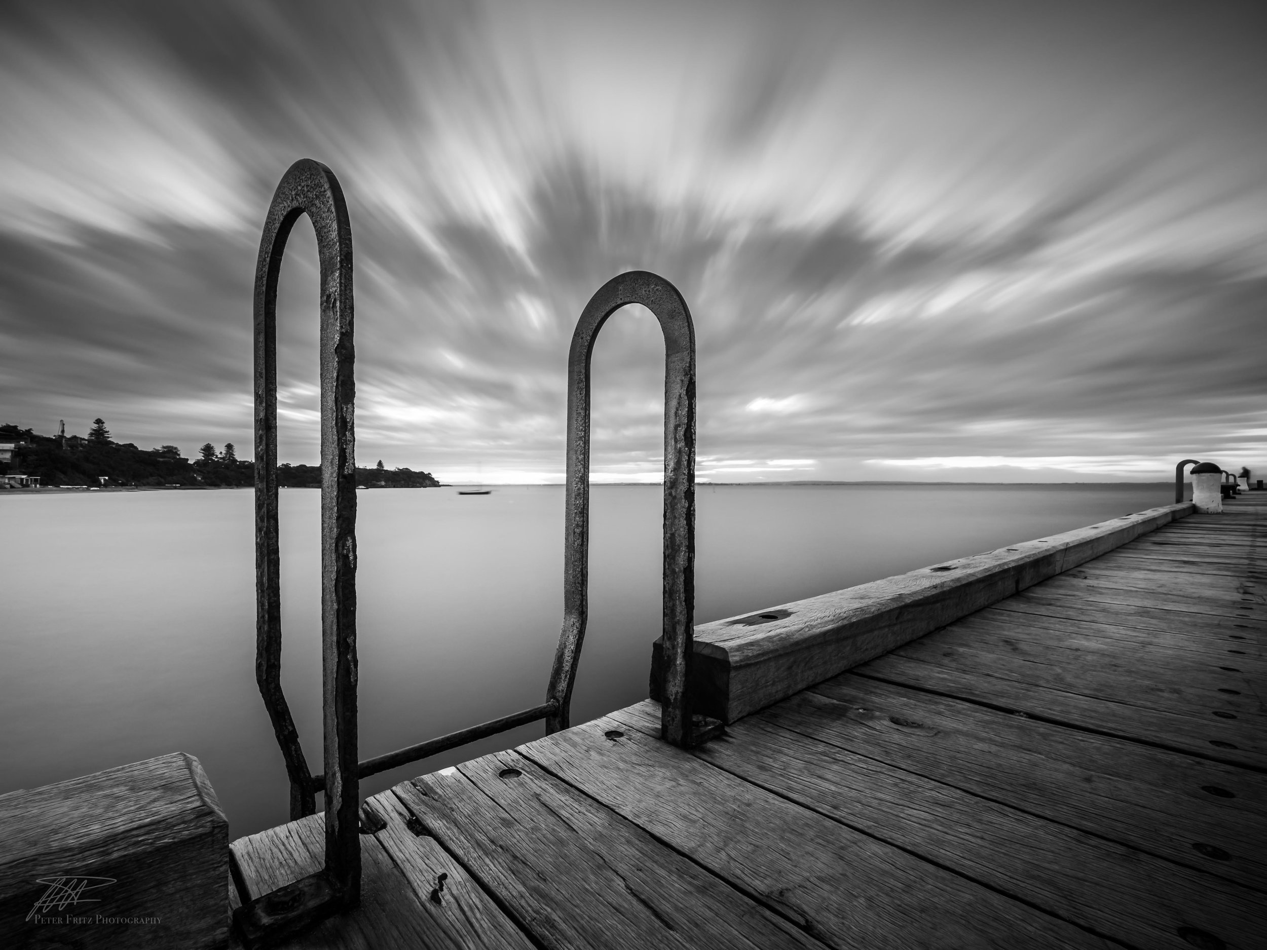 Portsea handrails