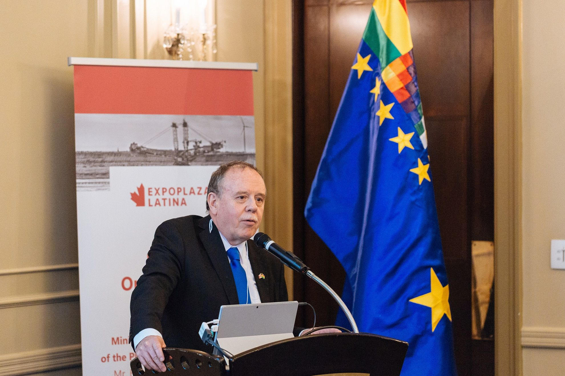 Ambassador of Bolivia Pablo Guzman in Vancouver.jpg