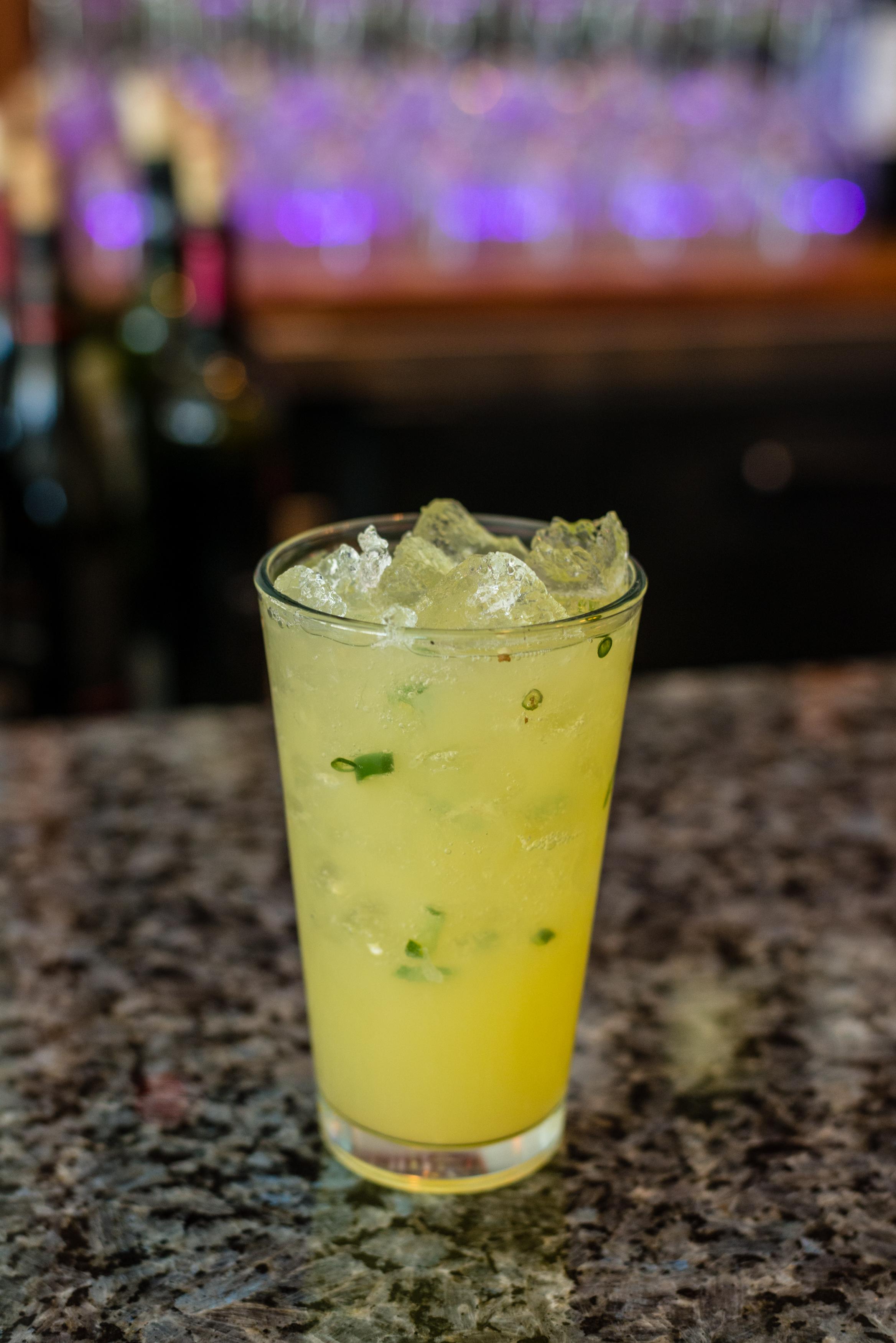 Green Chili Margarita