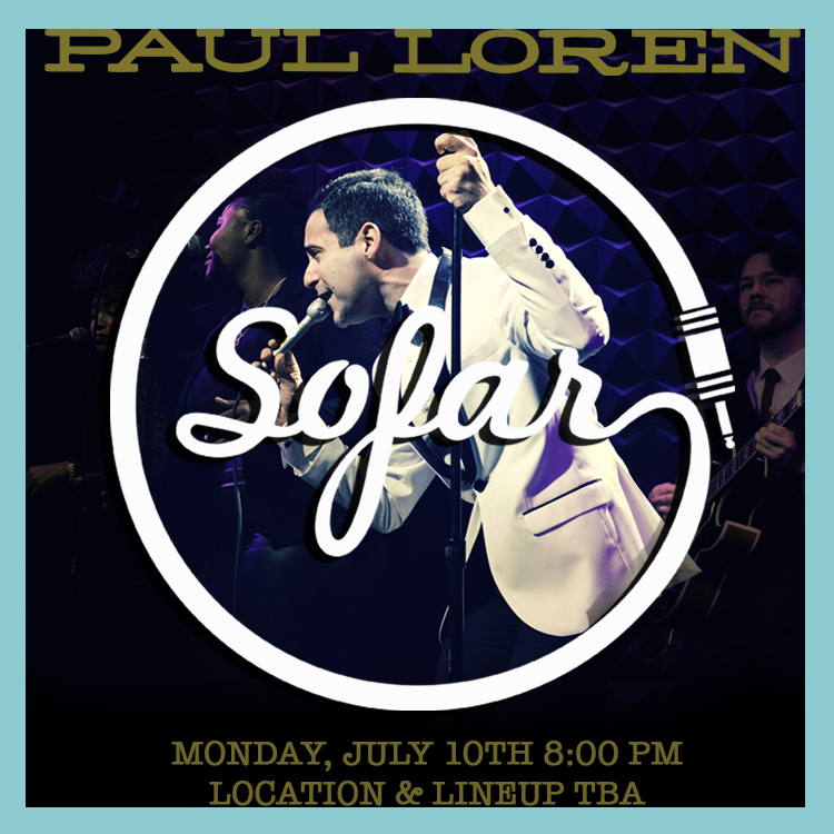 Sofar Sounds Paul Loren