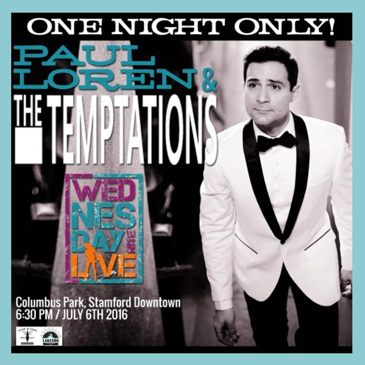 Paul Loren Wednesday Night Live Tempations