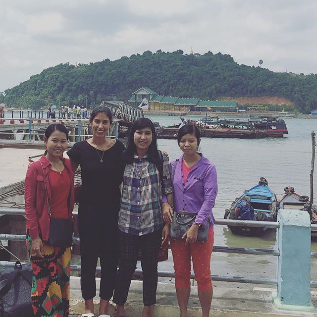 And we're off! Heading out to the islands with the Myeik University marine team to communicate research results, and to say thanks to the communities who shared their local fishing knowledge with us back in 2017. . . . #livelihoodslab #university #research #tesults #myeik #myanmar #femaleteam #womeninscience #womeninstem #fisheries #smallscalefisheries #islands #archipelago