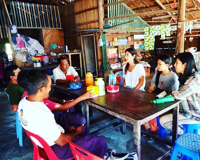 Useful discussions with the community leaders of Don Pale, which involved feeding back research results, and gaining broader scale knowledge about the community and fishing practices in the archipelago. Thanks again for having us! . . . #livelihoods #livelihoodslab #research #stem #womeninstem #myeik #archipelago #meetings #discussions #fisheries #fishig #islands #jcu #university #sharkraympa @jamescookuniversity @cstfa_jcu @sharkconservationfund