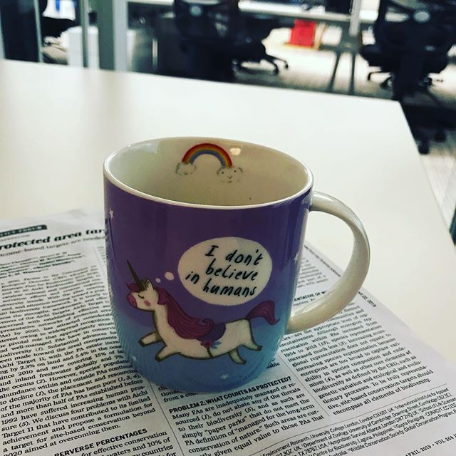 The perfect mug for a marine social scientist