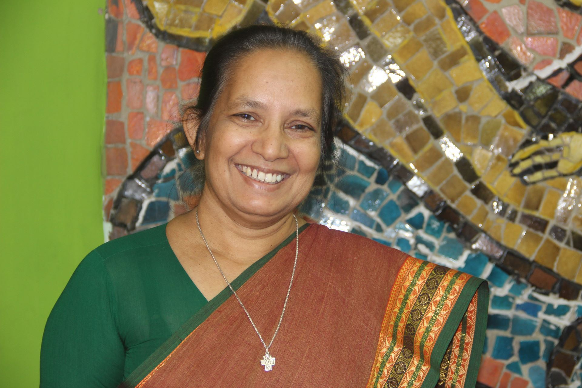 Sister Shalini Mulackal, PBVM   FIRST WOMAN TO LEAD AS PRESIDENT OF THE INDIAN THEOLOGICAL ASSOCIATION, NEW DELHI, INDIA