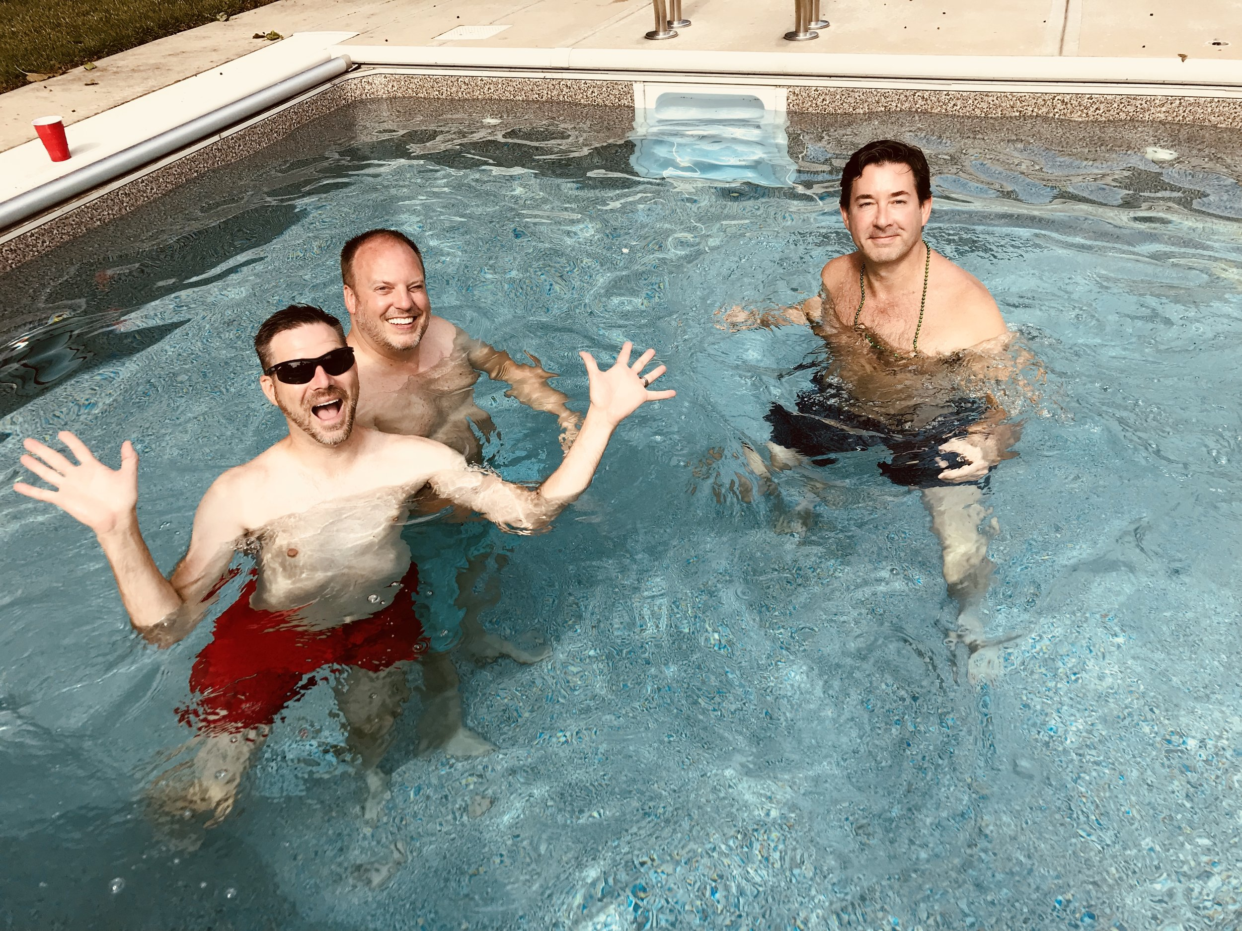 Post Parade Pooltime