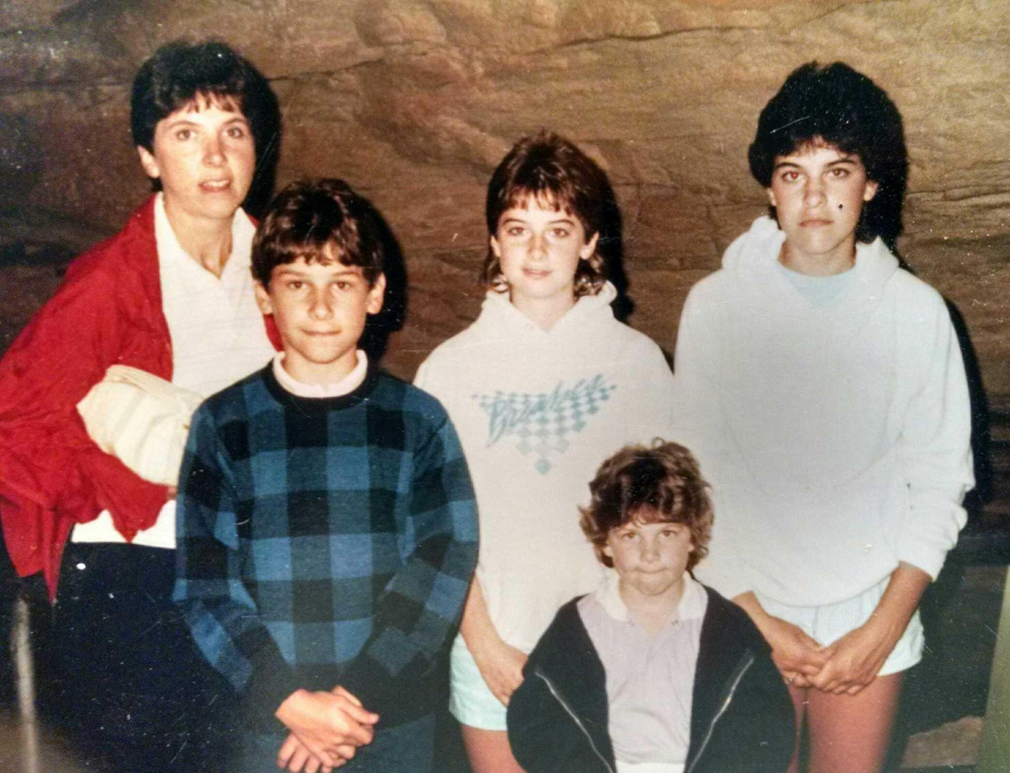 Mom, Rod (me), Terri, Heidi, and Robin