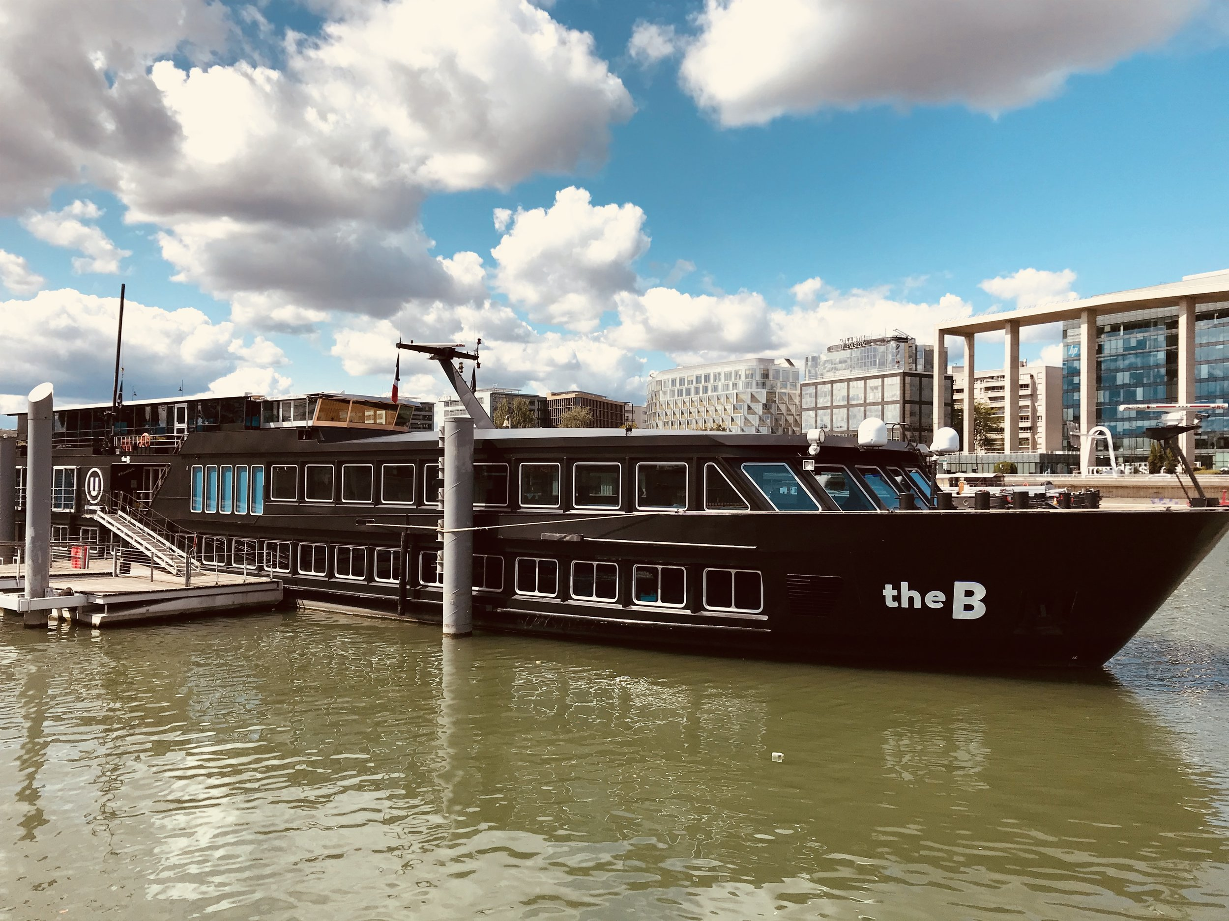 The B, an amazing boat for U by Uniworld