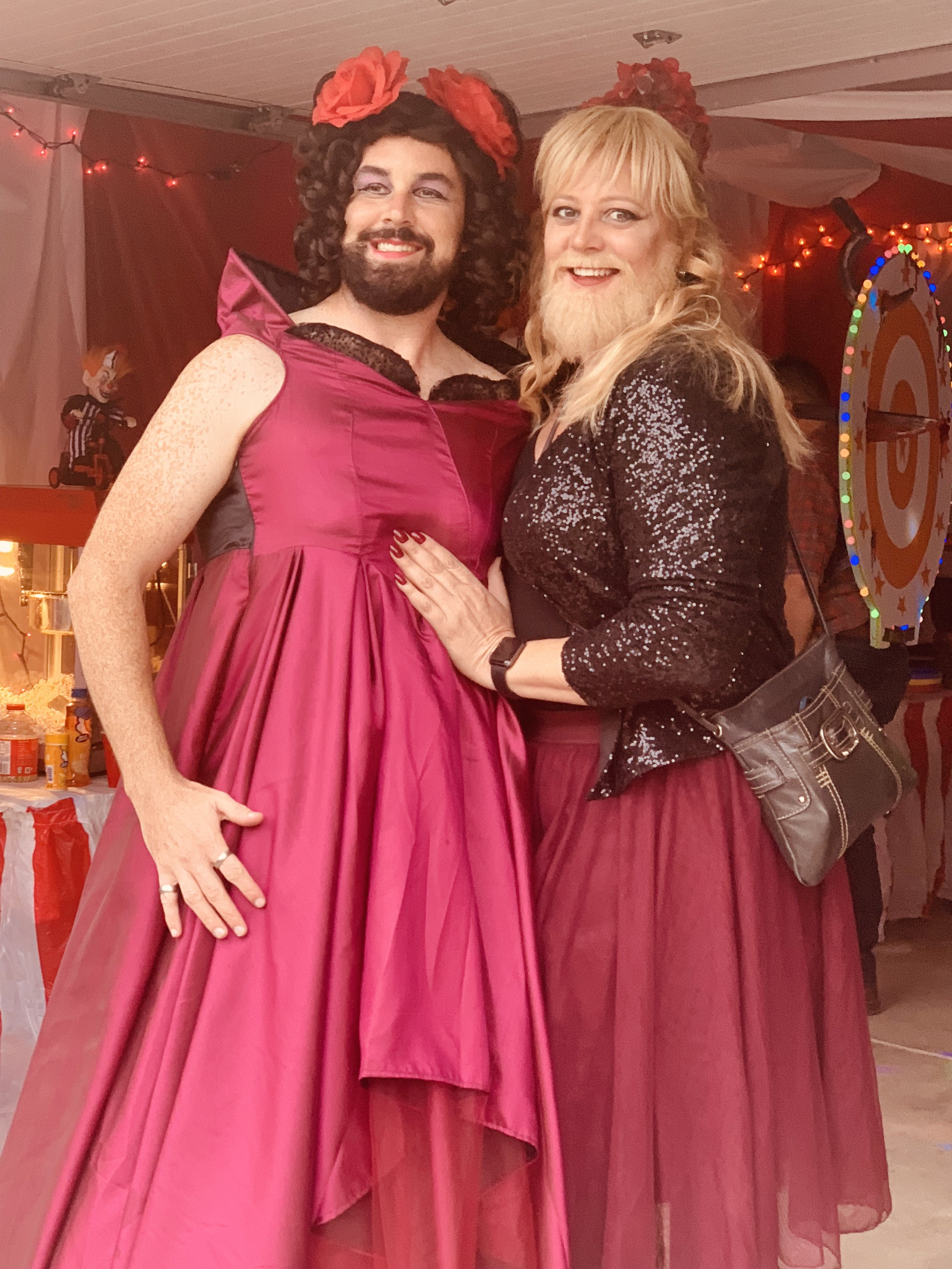 Just a couple bearded ladies here…