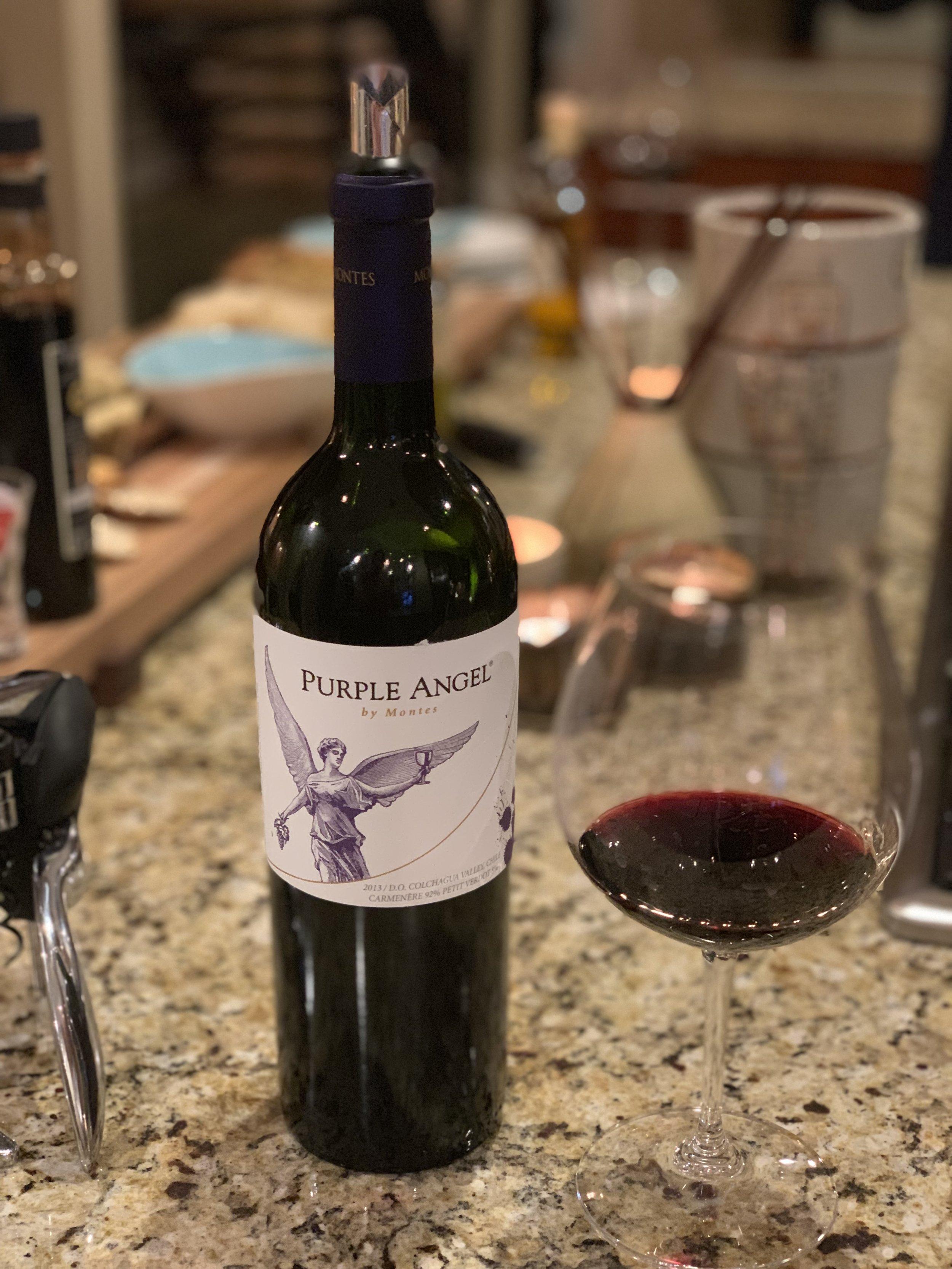some really, really good wine.  Thanks Kris and Joe!