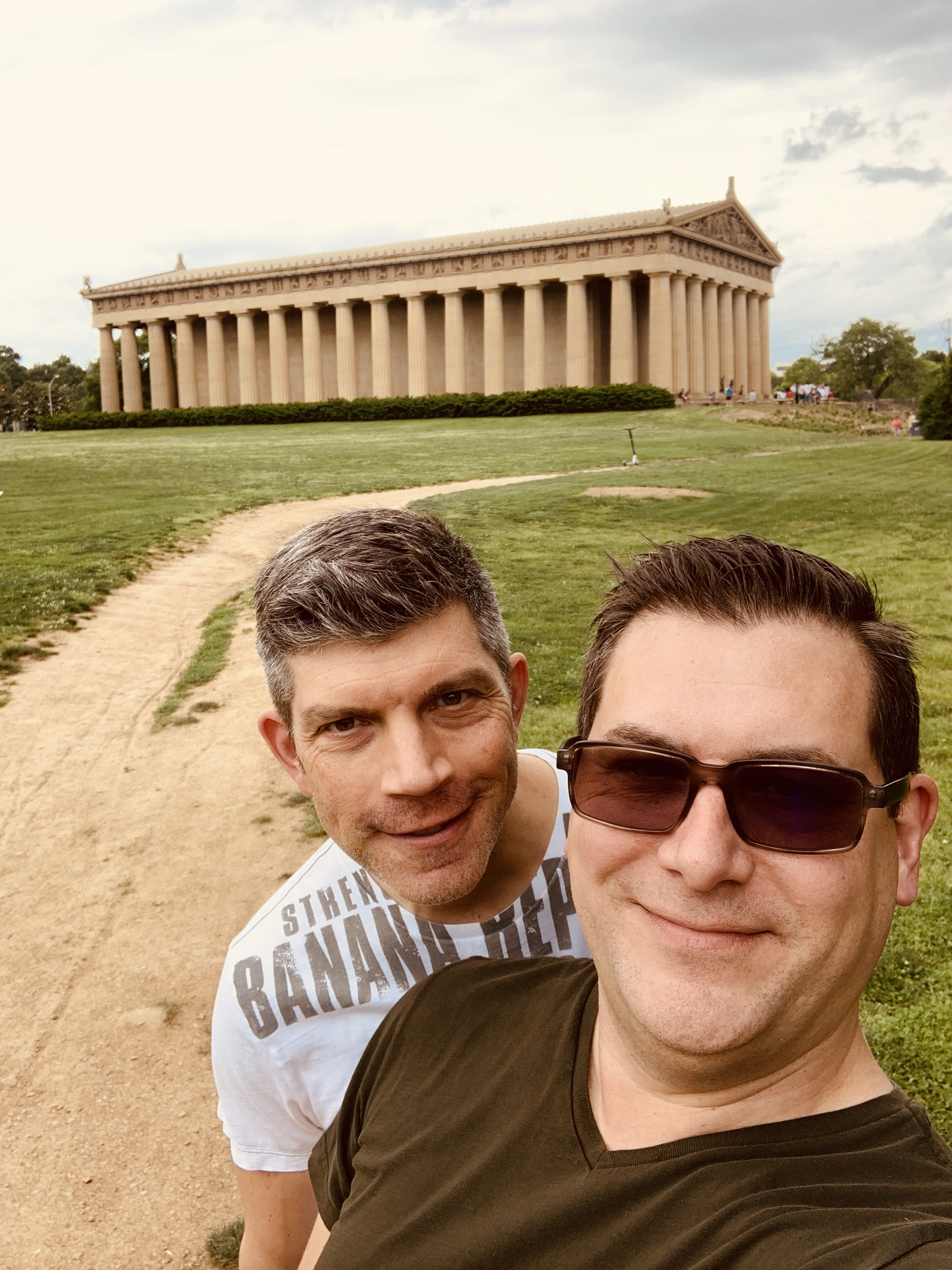 Nope, not Athens. It is Nashville's exact replica of the Parthenon!