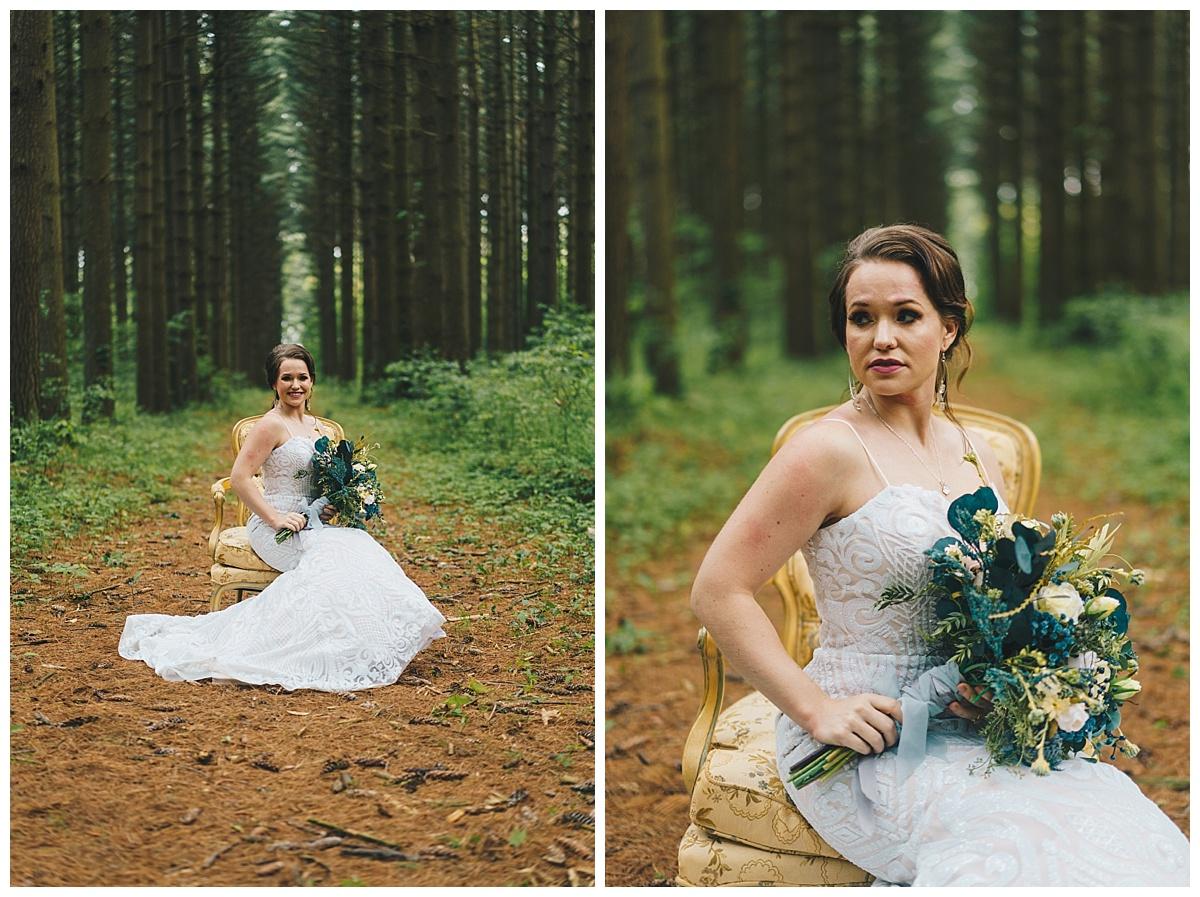 Nashville Wedding Photographer_Elegant Woods Styled Session-2