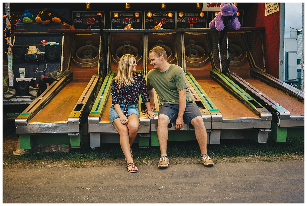 Nashville Wedding Photographer_County Fair Engagement Session