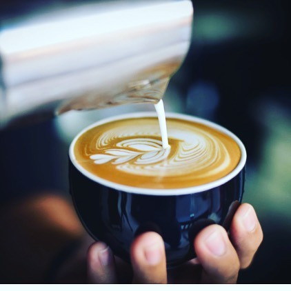 #latteart #specialtycoffee #baristatraining #sunshinecoastcoffee #dangerbirdcoffee