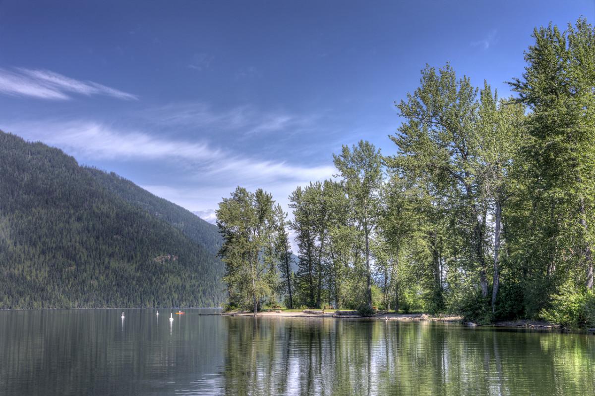 Photo: Go Camping BC, Mable Lake