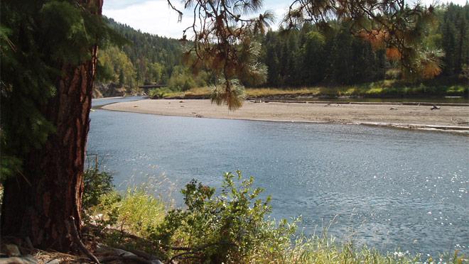 Photo: BC Hydro, Shuswap River