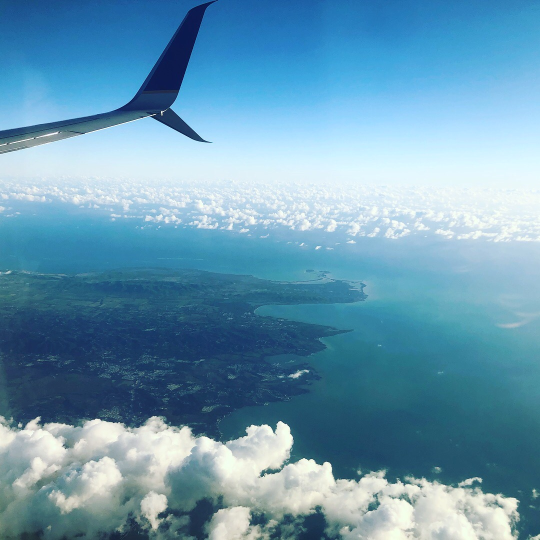 Coming in to Puerto Rico