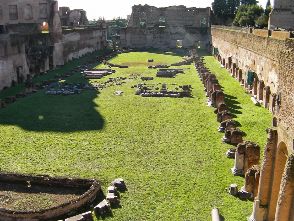 Emperor's Palace on Palatine Hill, Rome