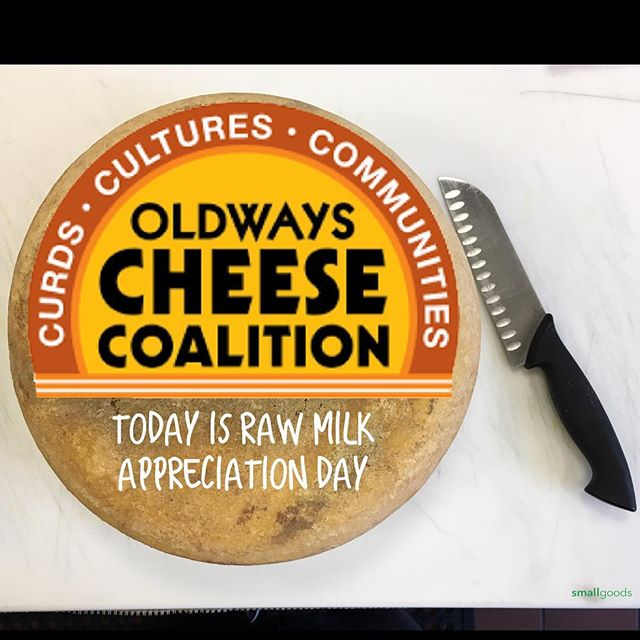 IT.IS.ON!! Today IS International Raw Milk Cheese Appreciation Day. Yay to the Oldways Cheese Coalition, and to raw milk cheeses, and to all of the great artisans around the world who have the passion to make their cheeses with raw milk.  #rawcheeseday #rawmilk #rawcheese #smallgoods #americancheeseclub #epicuriousclub #cheese #yelpsandiego #realamericancheese #ediblesandiego #culturecheese #eatersd #smallgoods_ #sandiego #ilovecheese