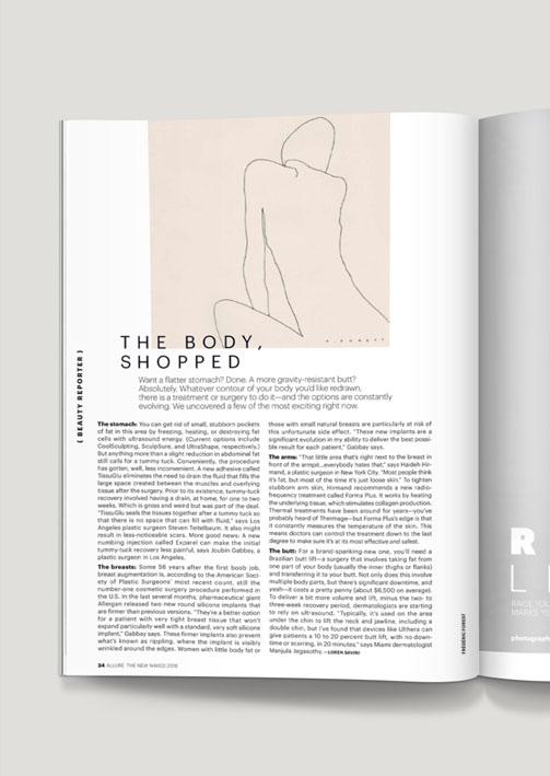 Allure Magazine Feb 2018