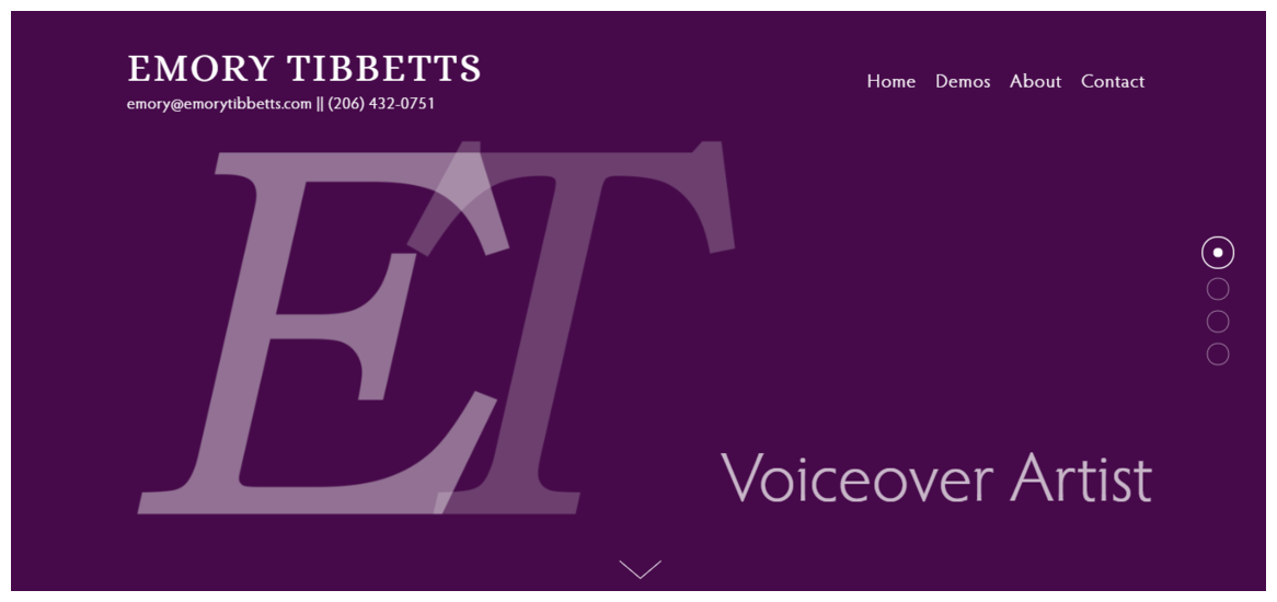 Emory Tibbetts' Website