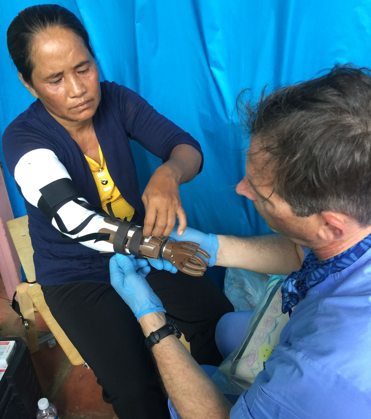 Our Impact - Since 2014, Sustainable Health Empowerment has embarked on five mission trips to Cambodia. During those trips, we conducted hundreds of health workshops, provided onsite dental and vision services, collaborated with locals to provide medical service, and outfitted dozens of patients with prosthetic arms. We also led trainings and health fairs to educate the population and providers and empower them with increased knowledge and resources.Off-site, SHE has coordinated the donation, packaging, and shipment of hundreds of thousands of dollars worth of useful medical equipment and supplies.This is just a snapshot of our impact. With your help, we can do even more.