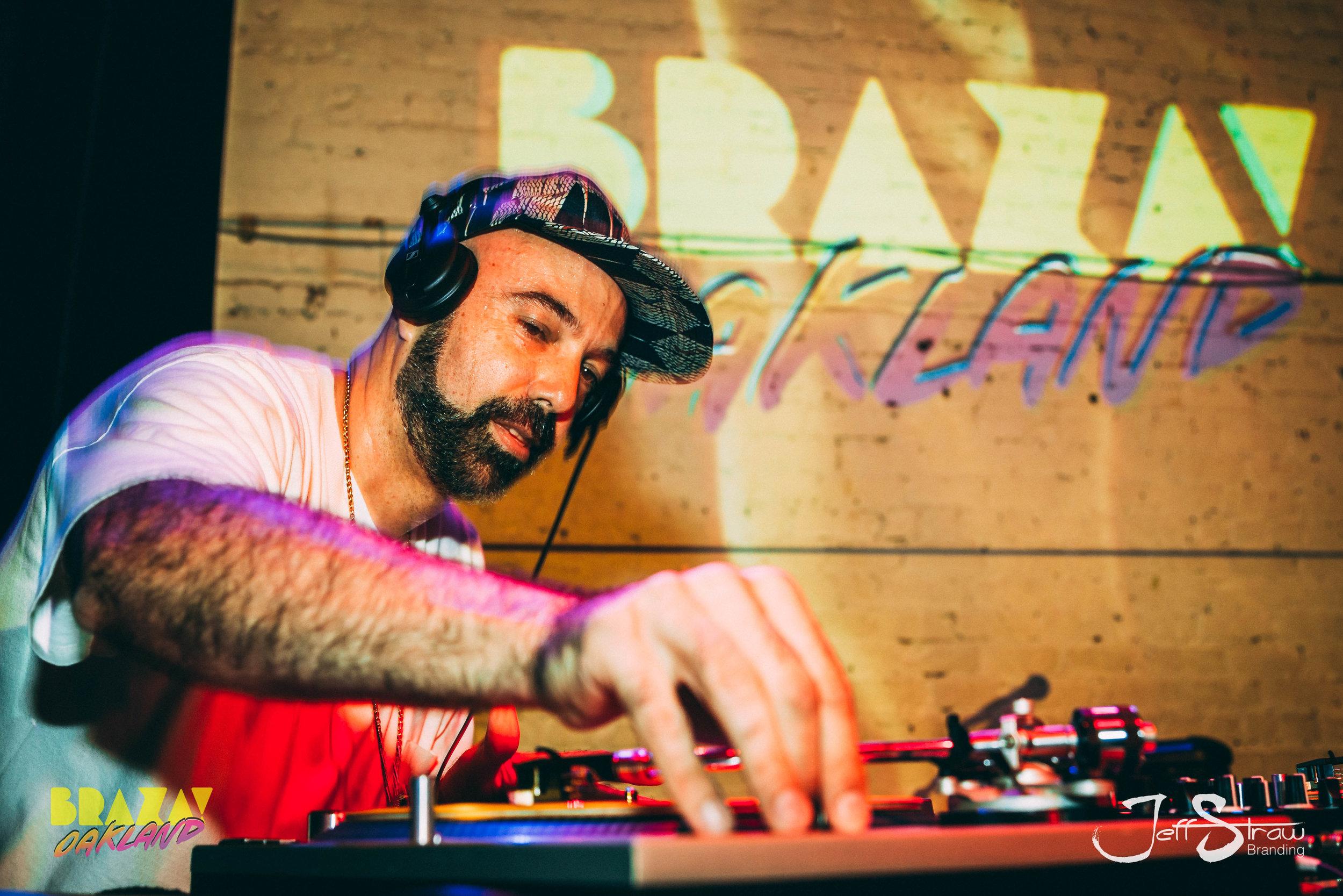 DJ Nu-Mark &J-Boogie - At Braza Oakland, The New Parish 7/19/19