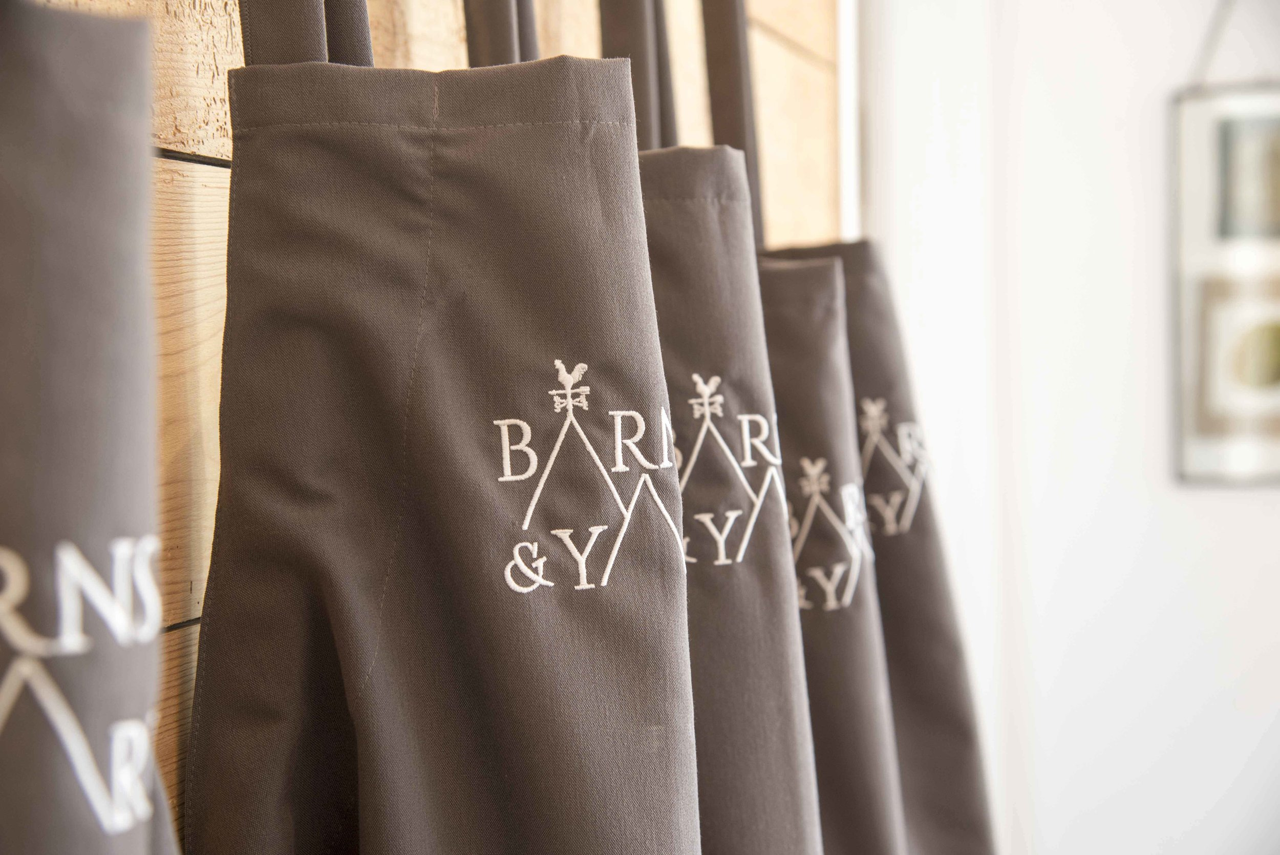 Aprons from Barns and Yard West Midlands wedding venue.jpg