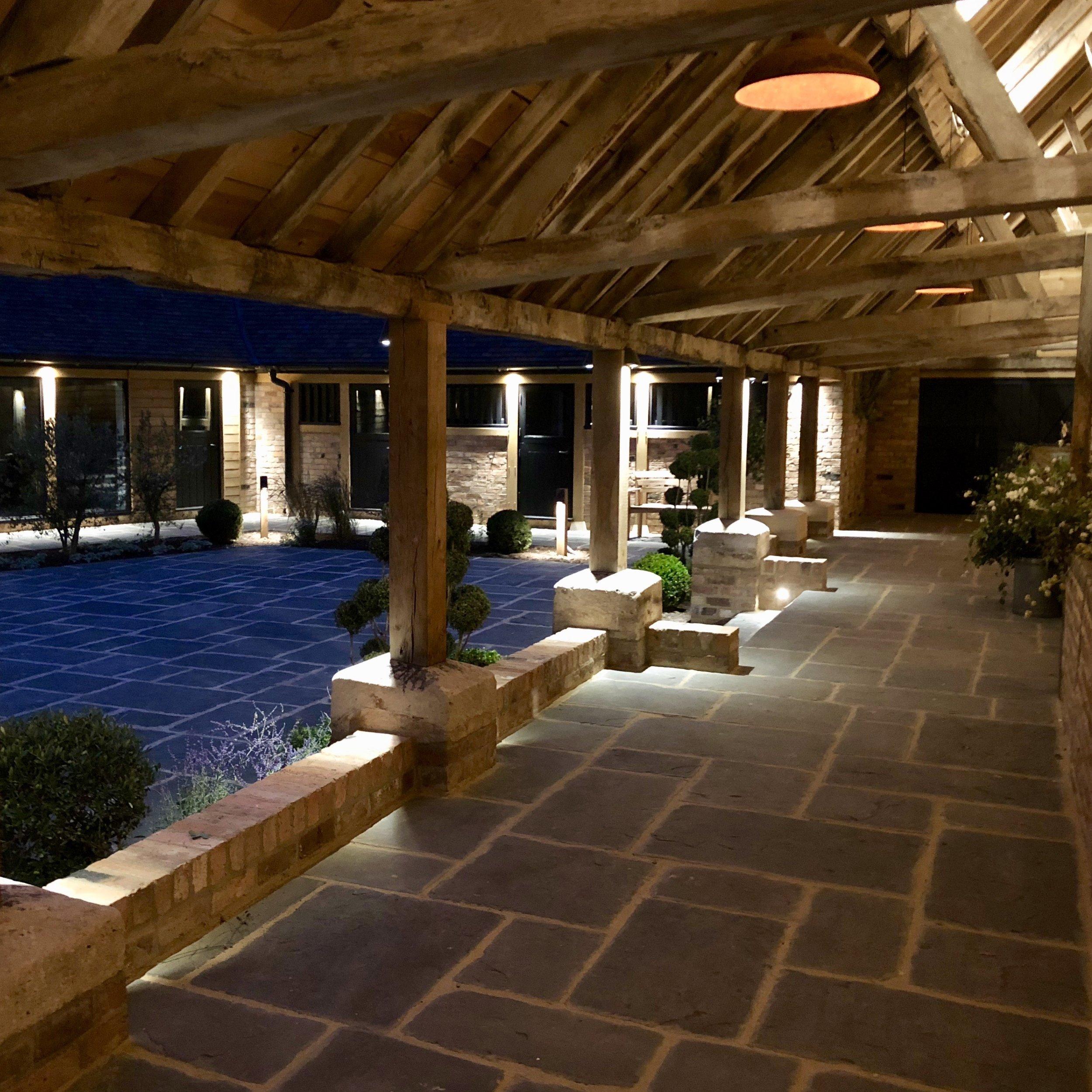 Barns and Yard Courtyard at night 2.jpg