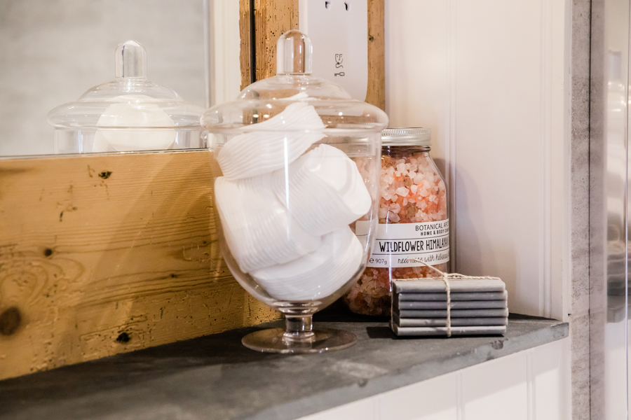 Glass jar in bathroom.jpg